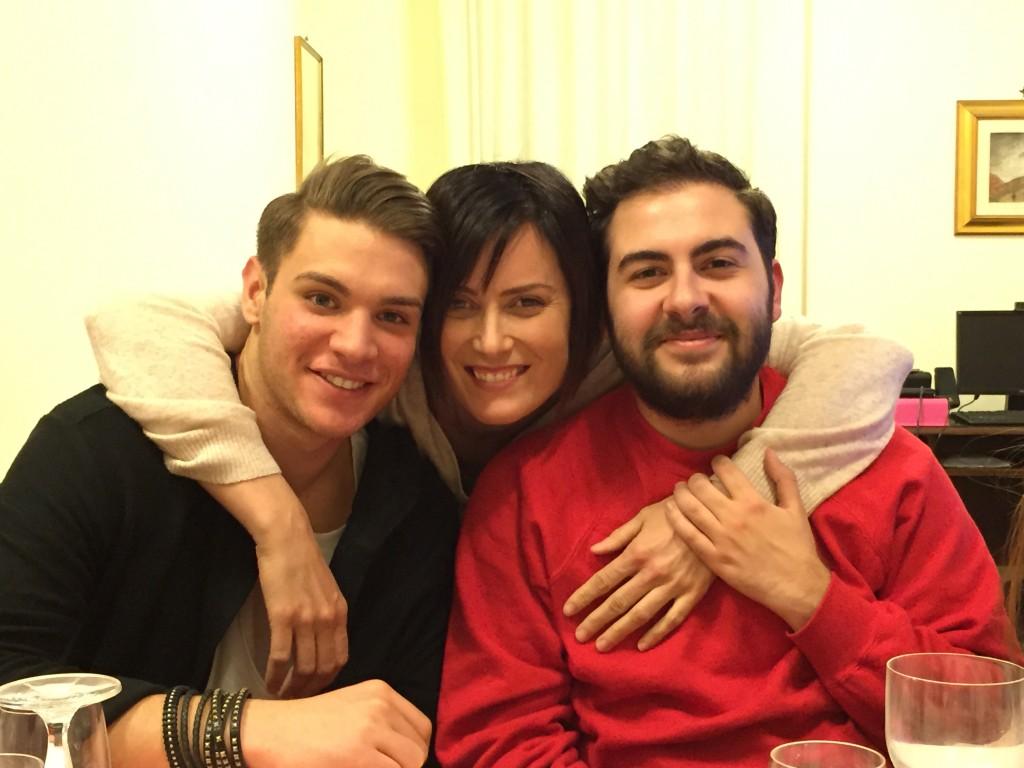 Con Gabriele Tufi e Andrea Faustini