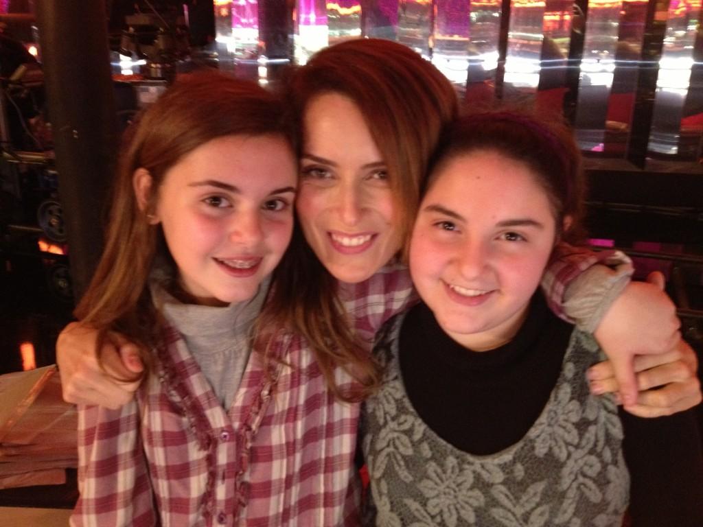 Con Clara Palmeri e Valentina Baldelli