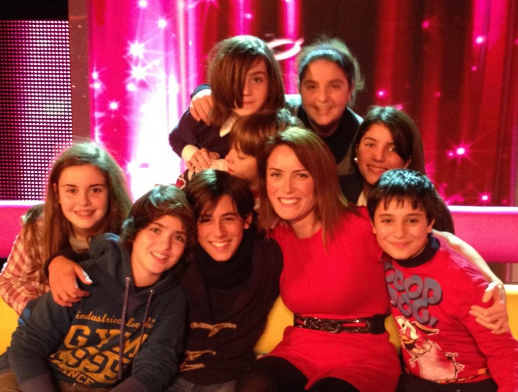 """Con i finalisti di """"Ti lascio una canzone"""" 2012"""