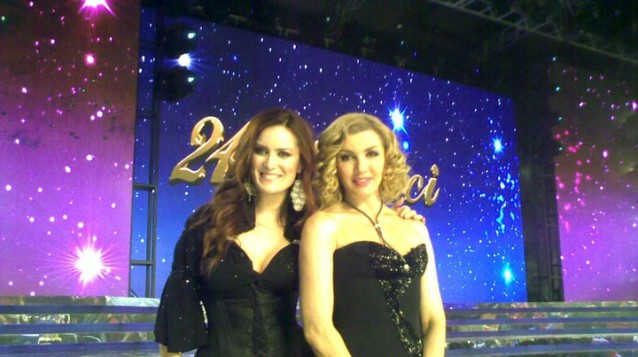 Con Milly Carlucci